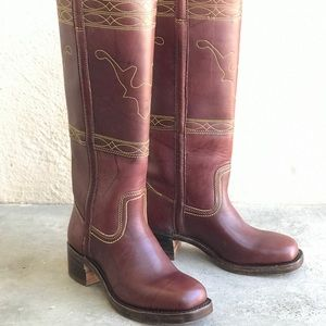 Frye Campus Stitching Horse Boots